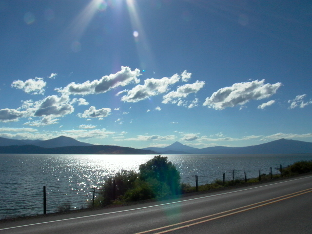 West shore of Upper Klamath Lake